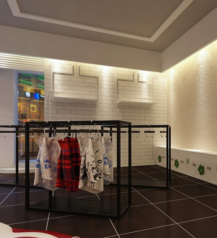 宿迁小型服装店怎么装修,时装店装修效果图